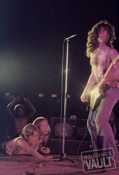 Photo of the Day - 6/19/2012. Paul Rodgers of Bad Company, Fine Art Concert Print @ Winterland (San Francisco, CA) Jun 19, 1975. Taken by Michael Zagaris. http://www.wolfgangsvault.com/paul-rodgers/photography/fine-art-print/WIN750619.html