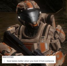 "RvB + tumblr posts<---- I can literally hear Grif yelling, ""Bitters!"" in my head as I look at this."