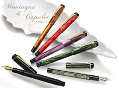 Conway Stewart Montague and Capulet Collection