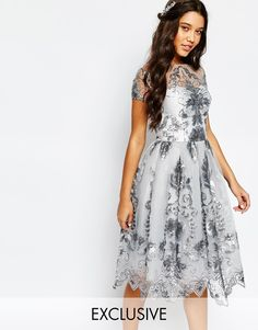 Order Chi Chi London Midi Prom Dress with Delicate Sequin online today at ASOS for fast delivery, multiple payment options and hassle-free returns (Ts&Cs apply). Get the latest trends with ASOS. White Sequin Dress, Sequin Prom Dresses, Lace Bridesmaid Dresses, Homecoming Dresses, Lace Dress, Bridesmaids, Beaded Dresses, Chi Chi, Mother Of The Groom Fashion