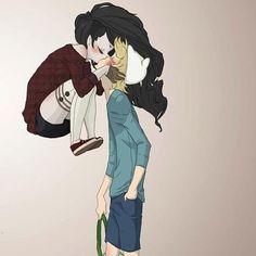 Marceline & Finn!!! ~~~<3
