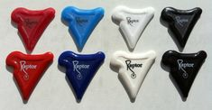 unusual guitar picks | Unusual Shaped Picks - Tina's Pick Collection