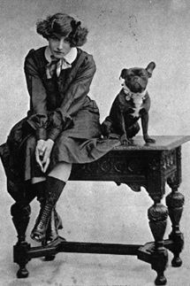 Colette and her dog