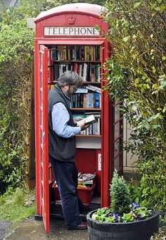 telephone library