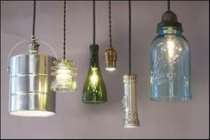 Some Unusual + Quirky Lighting Fixtures To Make | Content in a Cottage