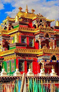 Dzogchen Gompa en Tibet