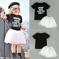"""Toddler Grils Lace Tutu Skirt Dress For Party Wedding. """"For the party"""", yeah, this is a must-have for the dance party! Hip hop with your baby girl together."""