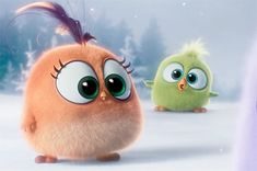 Our first look at the the adorable Hatchlings from The Angry Birds Movie as…