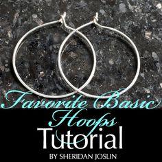 SheridanJoslin: Favorite Basic Hoops, Wire Jewelry Tutorial