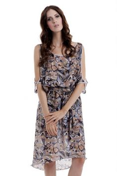 Bare your arms this spring! Made in LA from vintage silk. $245 on Ethical Ocean. #vintage #sustainablefashion #usamade