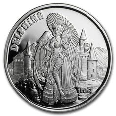 1oz 999 Fine Silver Thaddeus 2017 Angels /& Demons Steampunk Collection
