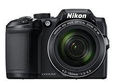 Nikon COOLPIX B500 Digital Camera (Black), 2016 Amazon Hot New Releases Point & Shoot Digital Cameras  #Photography