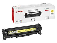 From 80.00 Canon Original Yellow Laser Toner Cartridge 718 226855