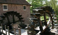 Water Mill 'The Stone Table' Borculo, Gelderland The Netherlands.