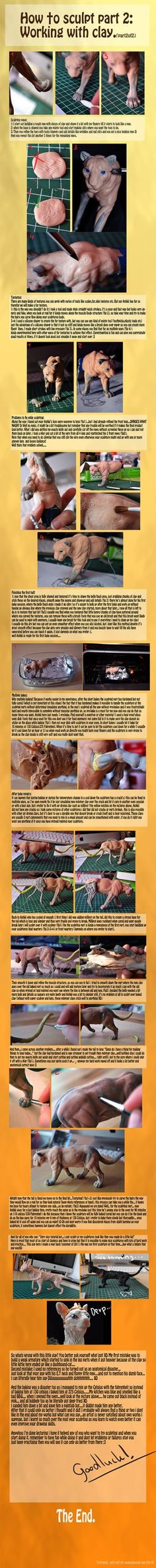 Sculpting tutorial part 2 of 2 by *mangakasan on deviantART