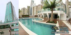 Apartamento de Alto Padrão, NOVO, com vista espetacular em Balneário Camboriú, no Edifício Le Parc.  Conheça: