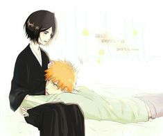 """Find and save images from the """"Kuchiki Rukia ♥"""" collection by Raspberry Princess (raspberryprincess) on We Heart It, your everyday app to get lost in what you love. Bleach Ichigo And Rukia, Kuchiki Rukia, Bleach Manga, Studio Ghibli Wallpaper, Bleach Couples, Bleach Fanart, Happy Birthday Dear, The Way He Looks, Anime Couples"""
