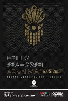 Hello Seahorse ~ Teatro Metropólitan (mayo, 2013)