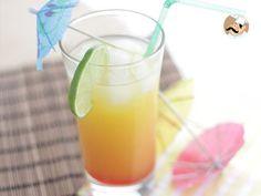 Recette Boisson : Tequila sunrise rafraîchissante par Ptitchef_officiel