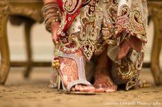 indian wedding ceremony bridal shoes lengha http://maharaniweddings.com/gallery/photo/5012