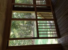 Another view of my sliding screen door.