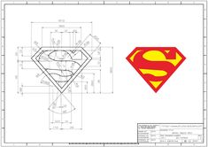 Mechanical Engineering Design, Mechanical Design, Superman Logo, Batman, Autocad Isometric Drawing, Solidworks Tutorial, Branding Design, Logo Design, Laser Art