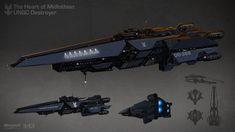 Space Ship Concept Art, Robot Concept Art, Concept Ships, Spaceship Art, Spaceship Design, Star Wars Desenho, Halo Ships, Nave Star Wars, Starship Concept