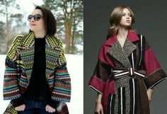 Шьем пальто по мотивам Fendi в технике Chanel