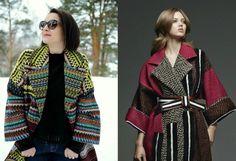 Шьем пальто по мотивам Fendi: обработка низа