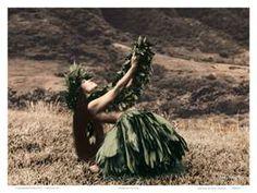 hula hawaiian dancer