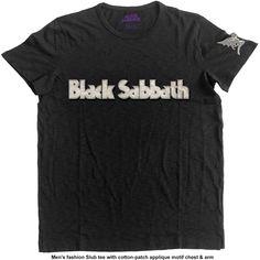 BLACK SABBATH Debut Album Mens T Shirt Unisex Tee Official Backprint Merch