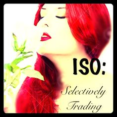 ISO and Selectively Trading I'm constantly listing new things daily.  If there's trades it needs to also be worth the cost of trading on here, and with trusted members of the posh community :)  The things I'm looking for:  Size 9-10 combat boots Size 9 Iron Fist Shoes Bettie Page Shoes, clothes Urban Decay makeup Kat Von Dee makeup Pinup/Rockabilly Fun tees Natural gems/Crystals (esp Amethyst) Anything Aquarius Anything with Nameste, Ohm symbol, etc. Ed Hardy Vibrams Urban Decay Accessories