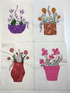 Disse fine blomster er syet af min kursist Birgit Christensen hos Speich Design i 2016.