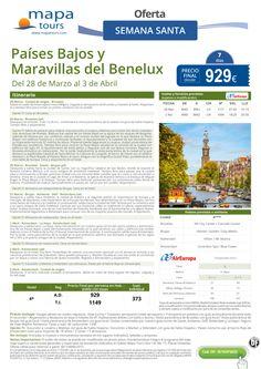 Países Bajos y Maravillas del Benelux Semana Santa **Precio Final desde 929** ultimo minuto - http://zocotours.com/paises-bajos-y-maravillas-del-benelux-semana-santa-precio-final-desde-929-ultimo-minuto/