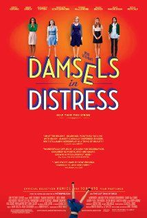 Damsels in Distress: A trio of girls set out to change the male-dominated environment of the Seven Oaks college campus, and to rescue their fellow students from depression, grunge and low standards of every kind.   Directed by Whit Stillman.  Starring: Greta Gerwig, Adam Brody, Analeigh Tipton & Carrie Maclemore.   Won: Dublin Film Critics Award, 2012.