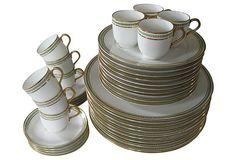 Limoges Porcelain Service for 10 on OneKingsLane.com