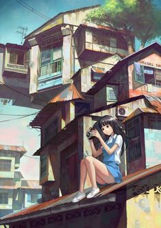 Digital Anime Art by FeiGiap