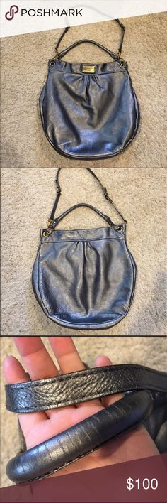 MARC BY MARC JACOBS 😍 I got this from Posh and never ever wore it! Its used some but def has a looooooot of life left in it! Its just not my style i tried rocking it it just didnt work out lol Amazing bag leather and heavy  very well made 😍 Marc By Marc Jacobs Bags