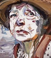 Portrait of the artist Margaret Olley by Ben Quilty, Australian contemporary artist. This painting was awarded the Archibald Prize Saatchi Gallery, Galerie Saatchi, Art And Illustration, Illustrations, Australian Painting, Australian Artists, L'art Du Portrait, Portraits, Figurative Kunst