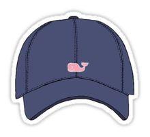 Navy Blue Whale Hat Sticker