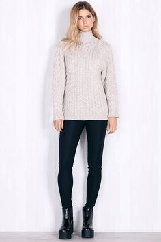 Cable Knit Sweater chiquelle, Suzana Lelic