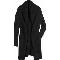Rick Owens Shawl collar cardigan - NET-A-PORTER.COM ($435) ❤ liked on Polyvore featuring tops, cardigans, sweaters, jackets, outerwear, net tops, netted tops, rick owens cardigan, cardigan top and shawl collar cardigan