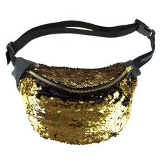 GOLD sequin fanny pack, metal ykk zipper. Bumbag fannypack burning man BOUDICCA by beksiesboutique on Etsy https://www.etsy.com/au/listing/256328847/gold-sequin-fanny-pack-metal-ykk-zipper