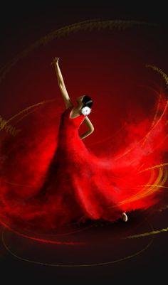 Dance Art - Flamenco, Paris, Spanish - Wall Art - Metal, Wood