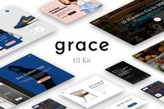 다음 @Behance 프로젝트 확인: \u201cGrace UI Kit\u201d https://www.behance.net/gallery/48402239/Grace-UI-Kit