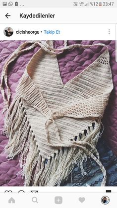 Knitting Fashion Summer Beaches 60 Ideas – chrissi be - Crochet Débardeurs Au Crochet, Crochet Woman, Bikinis Crochet, Crochet Bikini Top, Crochet Summer Tops, Halter Tops, Crochet Fashion, Crochet Clothes, Crochet Patterns