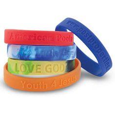 Promotional Youth Silicone Wristband with Custom Logo