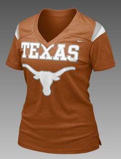 College Football Texas Womens Tee