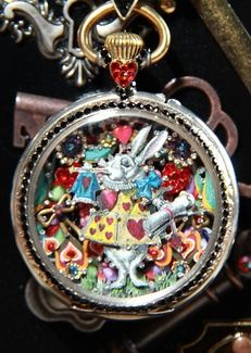 tracey davis jewelry | ... Tracey Davis. All her jewelry is done with antique pocket watches and