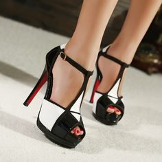 heel sandal, high heel